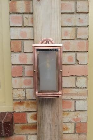 High St  Wall Light, top bracket